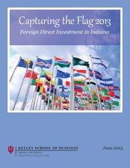 Capturing the Flag 2013: Foreign Direct Investment in Indiana