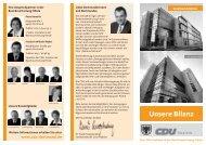 Unsere Bilanz - CDU Dortmund