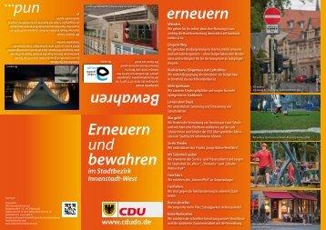 können Sie unseren aktuellen Bezirksflyer ... - CDU Dortmund
