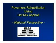 Pavement Rehabilitation Using Hot Mix Asphalt - National ...