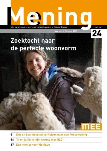 Zoektocht naar de perfecte woonvorm - MEE Zuidoost Brabant