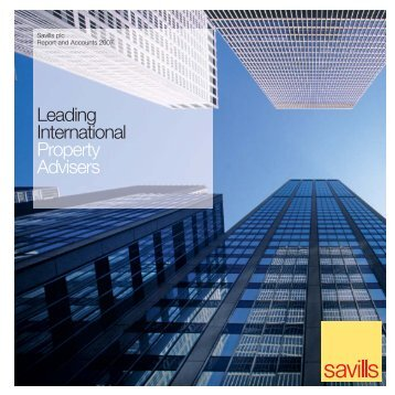 Savills Annual Report 2007 - Investor relations