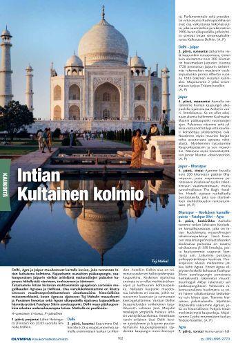 Lataa PDF - Olympia Kaukomatkatoimisto