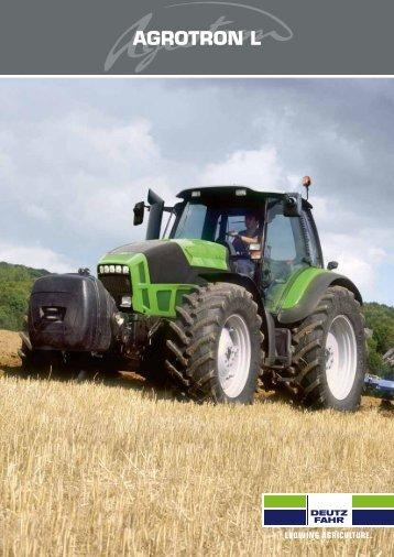 Trattori Deutz Fahr Agrotron L - Attrezzature Agricole