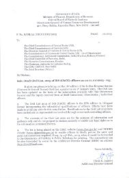 Draft Civil List as on 01.01.2013-Part-I - Central Board of Excise and ...