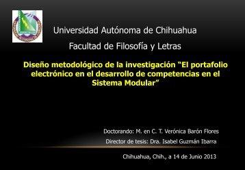 Presentación de PowerPoint - Facultad de Filosofía y Letras