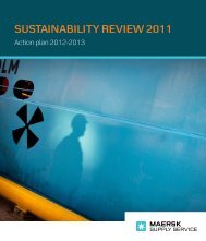 SuStainability Review 2011 - Maersk Supply Service