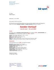 Sonder-Verkauf - Dow Europe Horgen Tennis Club