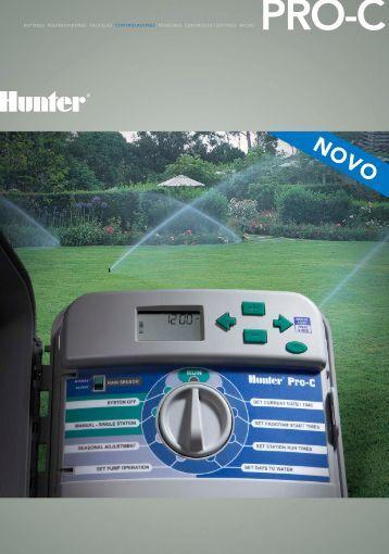 rotores pulverizadores válvulas controladores ... - Hunter Industries