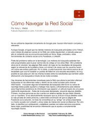 Cómo Navegar la Red Social - Webbmedia Group