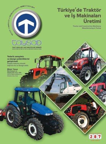 Türkiye'de Traktör ve İş Makinaları Üretimi - Taysad
