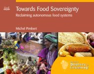 Towards Food Sovereignty: Reclaiming autonomous ... - Africa Adapt