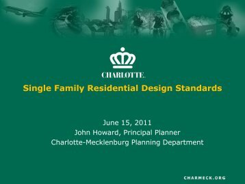Presentation - Charlotte-Mecklenburg County