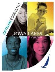 2009-2010 Catalog - Iowa Lakes Community College