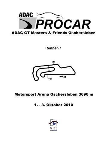 Rennen 1 - ADAC Procar
