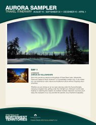 AURORA SAMPLER - NWTT Travel Trade