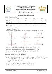Resolver os exercícios 12,13 e 16 da página 76