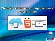 Uso y Aplicaciones de Cloud Computing. - My Laureate