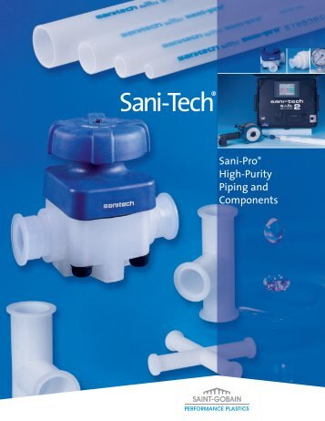 Sani-Pro High-Purity Piping And Components - Saint-Gobain ...
