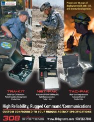 High Reliability, Rugged Command/Communications