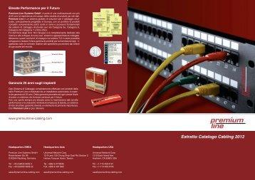 Nuova brochure Cablaggio Premium Line - Gfo Europe S.p.A.