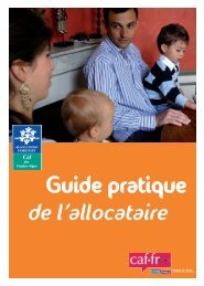 Guide pratique de l'allocataire - Caf.fr