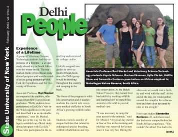 February 2012 - SUNY Delhi