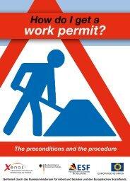 work permit? - Flüchtlingsrat Brandenburg