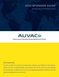 Download Our Member Guide - AUVAC