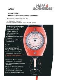3D-Taster Prospekt englisch Seite1 - Haff & Schneider GmbH & Co ...