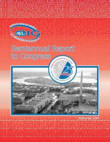 Download Report - Office of Inspector General - Department of ...