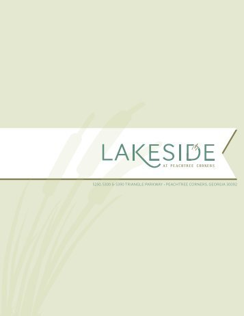 Lakeside at Peachtree Corners - Stream Realty Partners