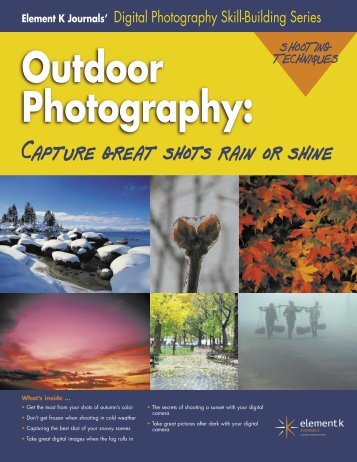Outdoor Photography - Eli Journals