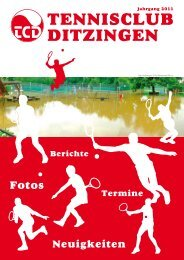 JUGEND - Tennisclub Ditzingen