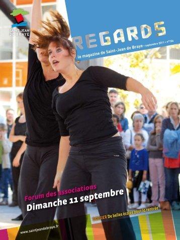 """Regards"" 156, septembre 2011 (pdf - 3,02 Mo) - Ville de Saint Jean ..."