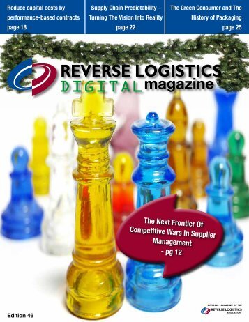 Edition 46 - Reverse Logistics Magazine