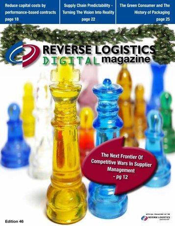 Edition 46 - Reverse Logistics Magazine