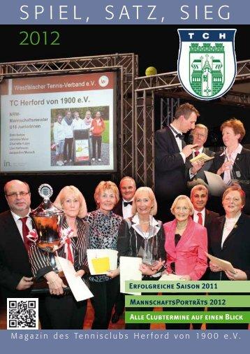 Clubheft 2012 - TC Herford von 1900 e.V.