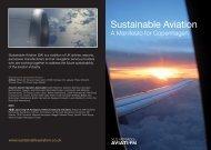 A Manifesto for Copenhagen - Sustainable Aviation