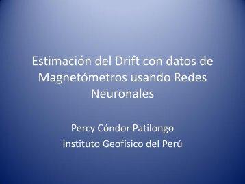 Estimación del Drift con datos de Magnetómetros usando Redes ...
