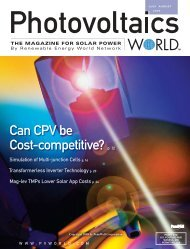 Can CPV be Cost-competitive? p. 12 - Advanced Energy