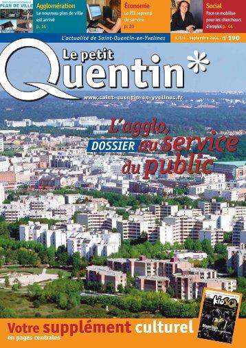 du public au service du public - Saint-Quentin-en-Yvelines