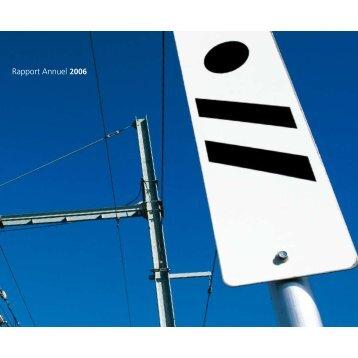 Rapport Annuel 2006 - Infrabel