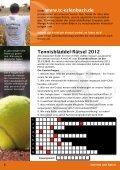 Unser Tennisbläddel 2012 steht zum download bereit. - Seite 6