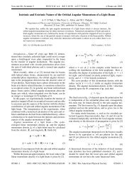 Intrinsic and Extrinsic Nature of the Orbital Angular Momentum of a ...