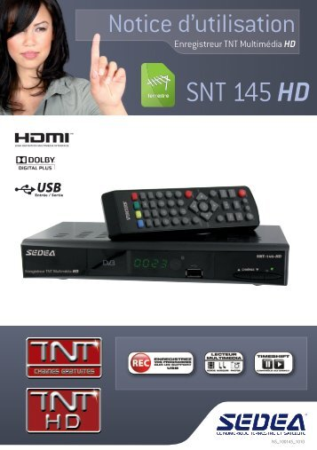 SNT 145 HD - Sedea