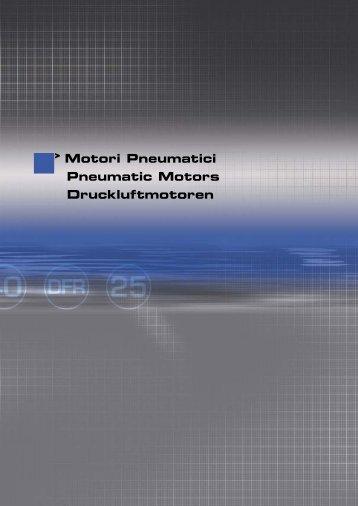 Motori Pneumatici Pneumatic Motors Druckluftmotoren - Sea
