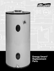 Energy Smart® Replacement Parts - American Water Heaters