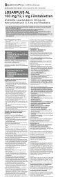 LOSARPLUS AL 100 mg/12,5 mg Filmtabletten - Aliud Pharma ...