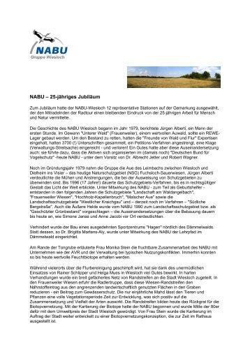 25 Jahre Nabu-Wiesloch 2004